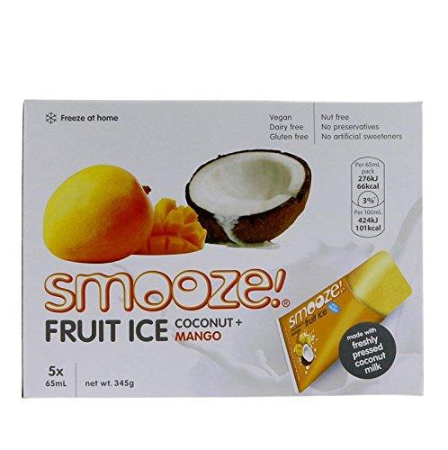 Smooze | Mango & Coconut Fruit Ice | 6x 5x65ml