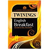 Twinings Té English Breakfast - 50 bolsitas
