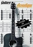 Guitare Acoustique Cahier De Tablatures: Cahier de Tablatures Pour Partitions Guitare, de musique avec Tablatures et Portées, 120 Pages A4 - Carnet du Guitariste idée cadeau musiciens