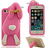Best GENERIC 5c Phone Cases - 3D Popular Fashion Bunny Appearance Prime Soft Silicone Review