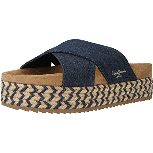 sandali Pepe Jeans Rodeo Denim Blue