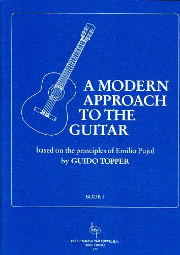 BROEKMANS & VAN POPPEL B.V. TOPPER GUIDO - A MODERN APPROACH TO THE GUITAR VOL.1 Méthode et pédagogie Guitare Guitare acoustique