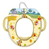 DISNEY WINNIE THE POOH TOILET TRAINING SEAT PADDED WITH SIDE HANDLES