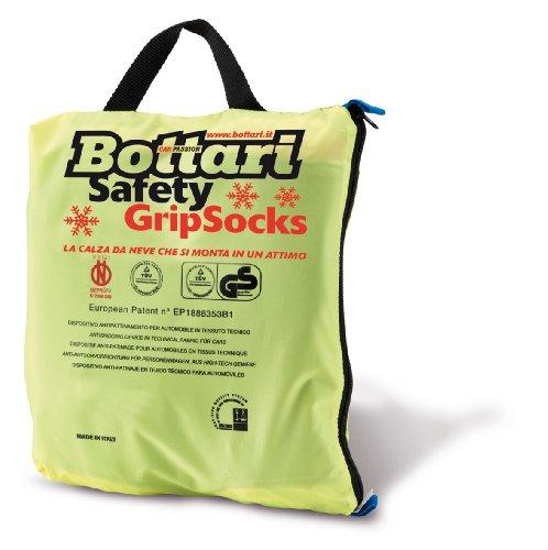 Bottari 68048: Calze da neve per auto, Taglia 80, Prodotto compatibile con tutti gli pneumatici estivi, 4 stagioni o invernali