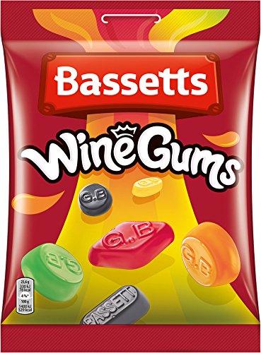 Basset's Englisch Wine Gums, 5er Pack (5 x 190 g)