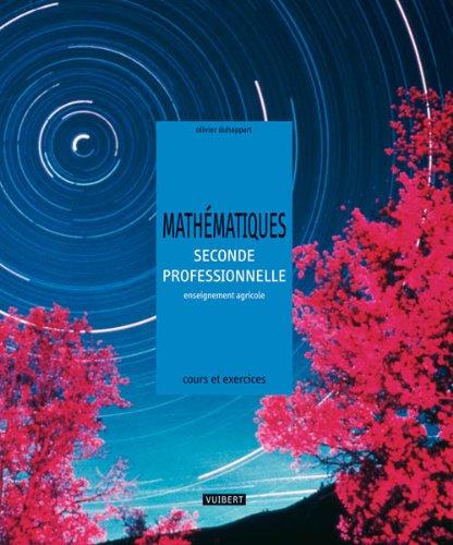 Mathématiques 2e professionnelle enseignement agricole