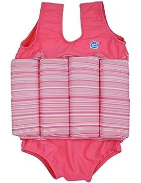 Splash About, Costume da bagno intero con galleggianti Bambina, Rosa (Rosa Bonbon), 4-6 anni