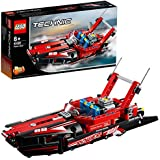 LEGO TECHNIC Power Boat Building Blocks for Kids (174 Pcs)42089