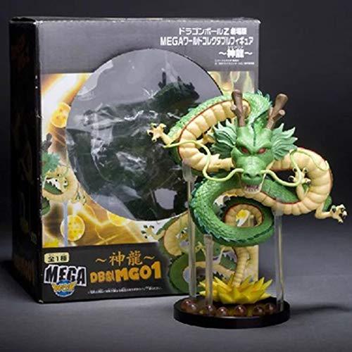Rmjai dragon ball - shenlong model pvc series boutique toy decorazioni regali di compleanno gioco collezionisti di hobby (6,2 pollici) pezzi da collezione (dimensioni : b)