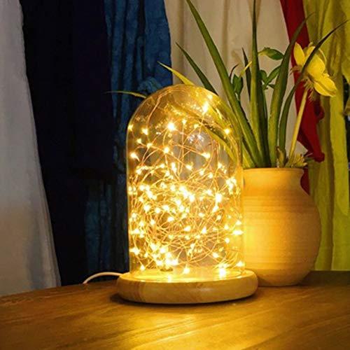 XQDSP Lampe de Table à LED Couve...