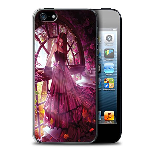 Officiel Elena Dudina Coque / Etui pour Apple iPhone SE / Bain Caché Design / Un avec la Nature Collection Couleurs d'Automne