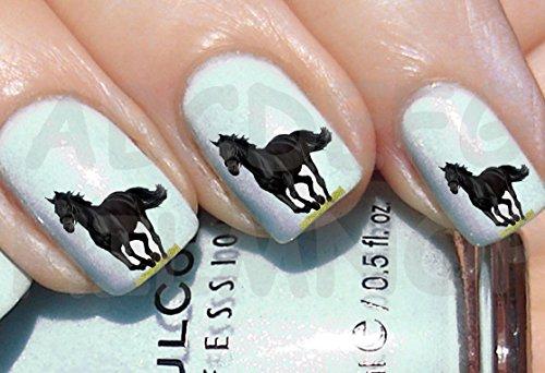 aws-juego-water-decals-caballo-negro-al-galope-unas-nail-art-pegatinas-stickers-stallone-black-horse