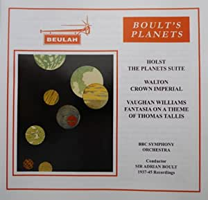 Holst: Planets; Walton: Crown Imperial; Vaughan Williams: Fantasia Tallis