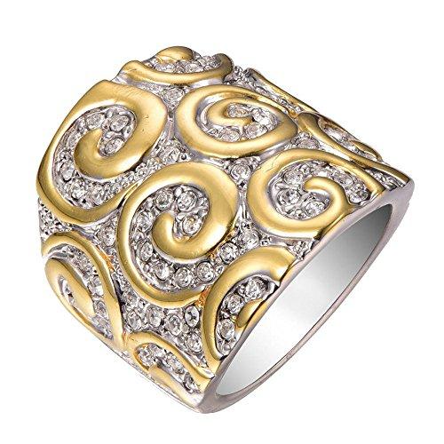 Weiß Saphir 925Sterling Silber gefüllt Ring Gr. M bis T 1/2F1321