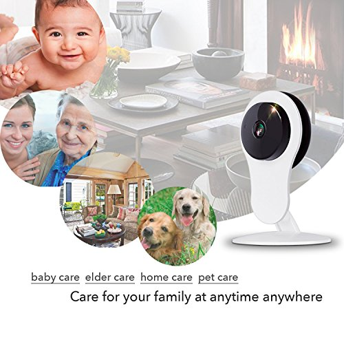 NETVUE Baby Monitor 1080P Pet Camera,Compatible with Alexa Echo Show, WiFi Security Camera Indoor with 2 Way Audio, Night Vision, Motion Detection, 7x24h Cloud Storage Dog Camera  netvue