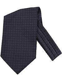 Kissing U Uomo Floreale Cravatta Ascot Sciarpe di Seta Signori Paisley Jacquard Woven Suit Accessori
