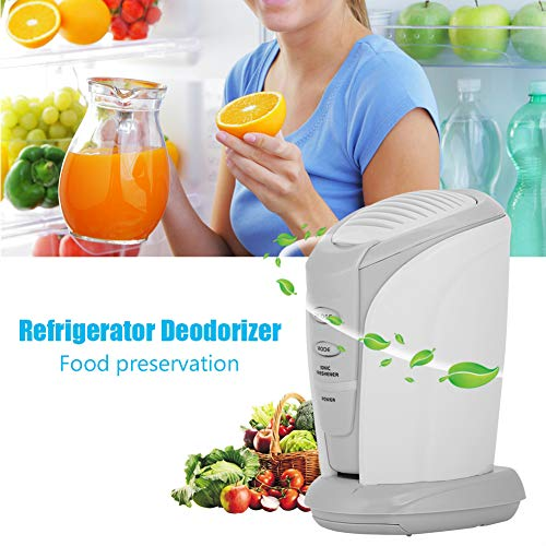 Generador de ozono port/átil de refrigerador desodorizante esterilizador de Mantenimiento de Alimentos purificador de Aire para Ministerio de Interior FTVOGUE