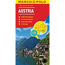 Austria Marco Polo Map (Marco Polo Maps)