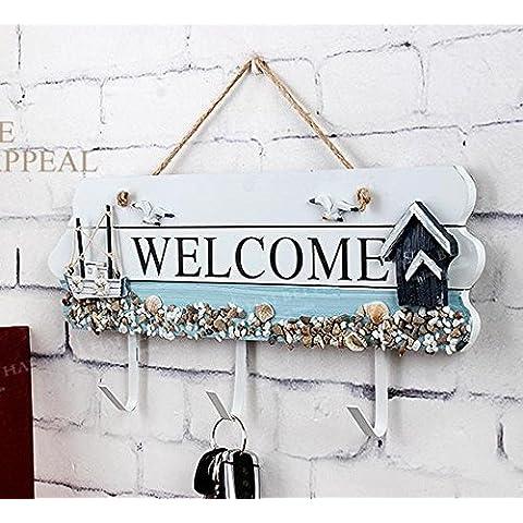 desy Welcome Welcome elencati decorazioni/gancio/gancio/Creative gancio appendiabiti gancio dietro la