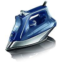 RowentaProMaster DW8215D1 - Plancha de vapor 2800 W, golpe de vapor de 200 g/min y vapor continuo de 40g/min, Suela Microsteam 400 HD Profile, Modo Eco y sistema antical integrado