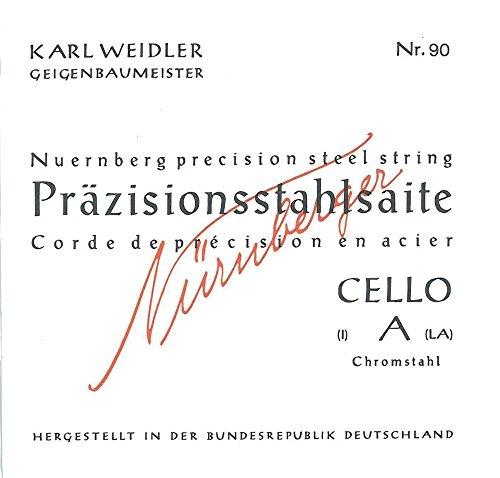 Nürnberger Saite für Cello Präzision Satz (90/91/92/93)