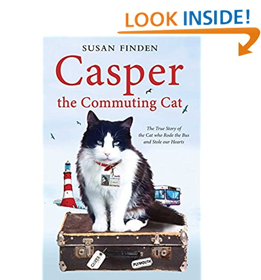 Casper the commuting cat the true story of the cat who rode the bus and stole our hearts