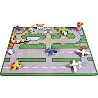Be-Active Large Heathwick Airport Playmat - A Fun Addition For The Bedroom, Playroom, Nursery Or Class Room!