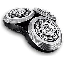 Cabezales de afeitado RQ12+ funda de recambio para afeitadoras Philips Norelco SensoTouch 3d