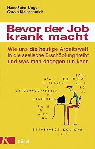 Cover »Bevor der Job krank macht«