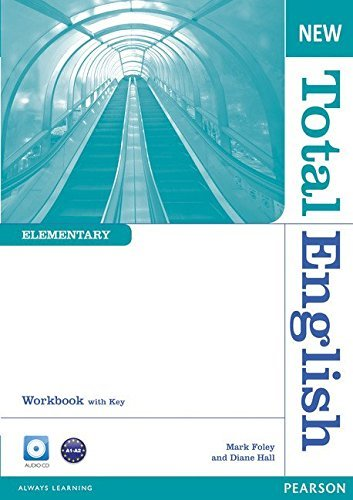 New Total English Elementary Workbook with Key and Audio CD Pack by Ms Diane Hall (2011-01-20)