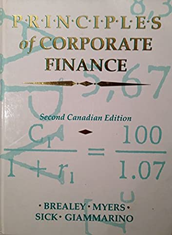 Principles of Corporate Finance: Overhead Transparencies (McGraw-Hill Series in Finance)