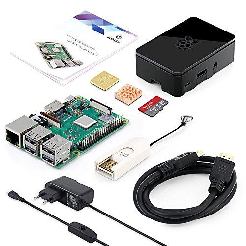 ABOX-Raspberry-Pi-3-Modell-B-Plus-B-Ultimatives-Starterkit-mit-32GB-Class-10-SanDisk-Micro-SD-Karte-25A-Einaus-Schaltnetzteil-und-Premium-Black-Case-