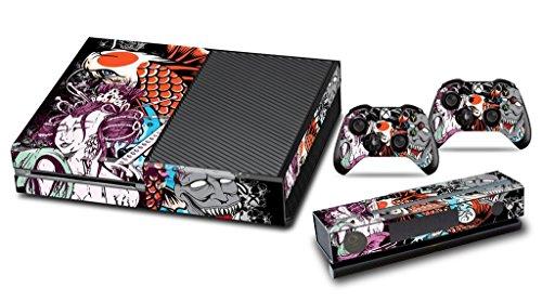 xbox-one-designfolie-sticker-skin-vinyl-aufkleber-schutzfolie-fur-xbox-one-konsole-mit-2-aufkleber-f