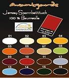 SPANNBETTLAKEN WASSERBETTEN BOXSPRINGBETTEN 180x200 bis 200x220 170gr Öko Tex Zertifikat Avantgarde 100% Baumwolle 19 Farben (01-weiß)