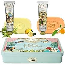 Caja Regalo Belleza Frances : 2 Crema de Manos con Manteca de Karite, Aloe Vera