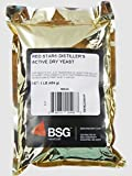 Distillers Active Dry Yeast - Red Star DADY 1 lb pack by BSG