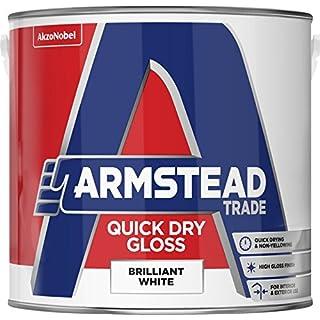 Armstead Trade Quick Dry Gloss 2.5L Brilliant White