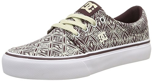 DC Shoes Trase Sp, Baskets Basses Femme Violet (Wine)