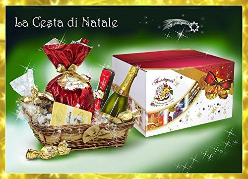 Idea regalo di natale - cesto di natale artigianale - cesto natalizio - cesti natalizi - cesta di natale