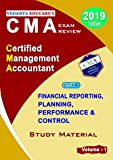 CMA (USA) - PART 1 - Total Set - Financial Reporting, Planning, Performance & Control (Total of 4 Volumes) - VEDANTA EDUCARE's CMA EXAM REVIEW - 2019 Edition