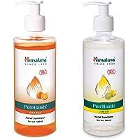 Himalaya PureHand Sanitizers - 500 ml (Orange) & Himalaya PureHands Hand Sanitizer (Lemon) - 500 ml