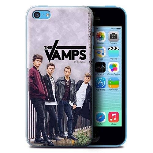 Officiel The Vamps Coque / Etui pour Apple iPhone 5C / Pack 6pcs Design / The Vamps Séance Photo Collection Scrapbook