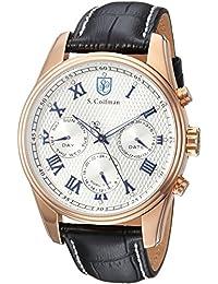 S.Coifman SC0401 - Reloj de pulsera hombre, color Negro