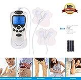 NBD® Electroestimulador digital, masajes multiusos la máquina Adelgaza el Masajeador electrónico, ideal para el manejo del dolor y rehabilitación con 8 Modos y 4 almohadillas. M...