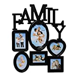 eCraftIndia Heart Shape Family Collage B...
