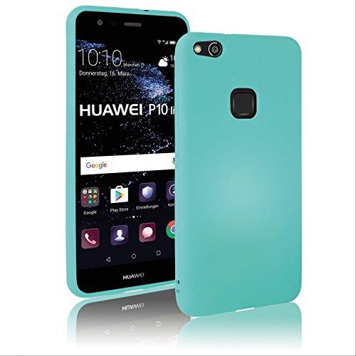Movoja Huawei-P10-lite Hülle Case   Mint matt   Soft Touch TPU   Perfekter Schutz   Schutzhülle Matt Huawei P10 lite Cover Huawei P10-lite Mint