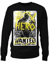 gothams Dark Protector hommes Sweat-shirt (Noir)