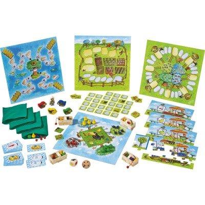 HABA-Meine große Spiele-Sammlung der Obstgarten, 302283