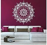HAJKSDS Hot Mandala Fiore India Camera da Letto Soggiorno Adesivi Murali Arte Tatuaggi Murale Casa Rimovibile Muro Decalcomania TV Sfondo Poster