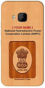 "Aakrti Mobile Back cover with your Dept: National Hydroelectric Power Corporation Limited (NHPC).your Govt ID in remarkable Way With "" Your Name "" Printed on your Smart Phone : Samsung Galaxy A-8"